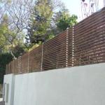 גדרות מעץ לגינה