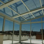 בנייה קלה של גגות מתקפלים